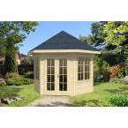 Skan Holz Gartenhaus Almelo - 28 mm