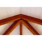 Skan Holz Pavillon Orleans-Balkenansicht