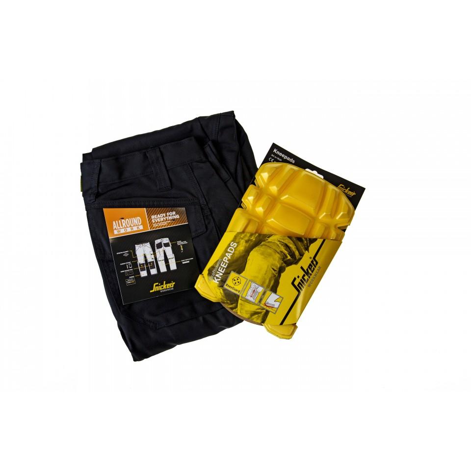 snickers workwear 6301 allroundwork arbeitshose inkl gratis kniepolster 9110 snickers. Black Bedroom Furniture Sets. Home Design Ideas