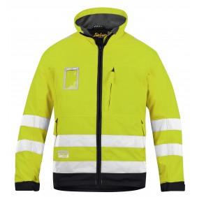 Snickers 1133 HiVis Winter Jacke gelb / grau