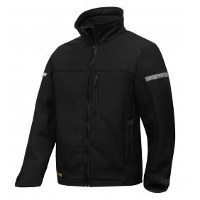 Snickers Workwear 1200 AllroundWork Softshelljacke  - Schwarz/Schwarz (0404)