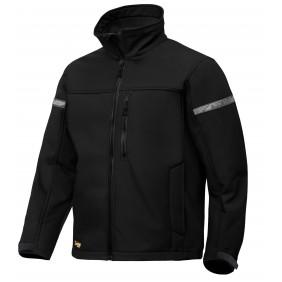 Snickers Workwear 1201 AllroundWork Damen Softshell-Jacke - schwarz-schwarz (0404)