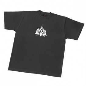 """FHB Gero 90400 T-Shirt Zunftsymbol """"Maurer"""", Schwarz"""