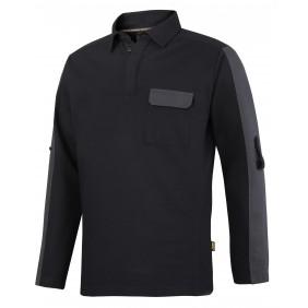 Snickers Workwear 2607 AllroundWork Rugby Shirt - schwarz