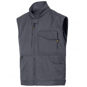 Snickers Workwear 4373 Service Weste, Stahlgrau