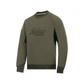 Snickers 2820 Logo Sweatshirt in 3204