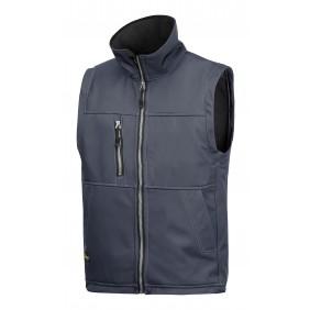 Snickers Workwear 4511 Profil Softshell Weste, Stahlgrau
