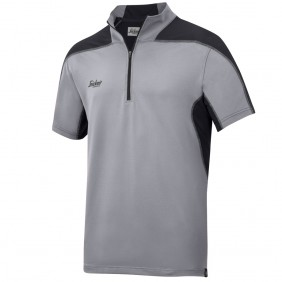 Snickers Workwear 2716 A.V.S. Body Mapping Polo Shirt, Grau - Schwarz