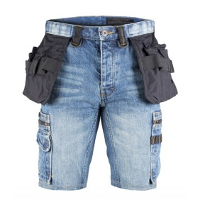 Dunderdon P55s Zimmermanns Denim Shorts stonewash DW2055010500