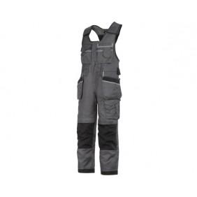 Snickers Workwear, 0212 Kombihose DuraTwill, Holstertaschen, Arbeitshose, muted black-schwarz