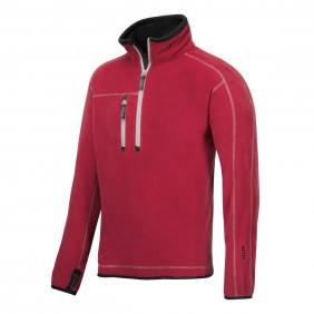 Snickers Workwear 8013 A.I.S. Fleece Troyer rot