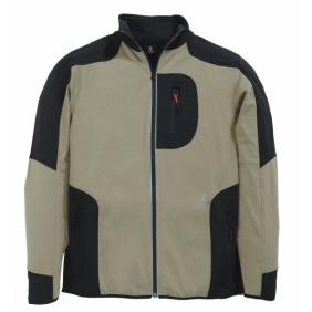 FHB 78461 Jersey-Fleece Jacke FHB fastdry beige