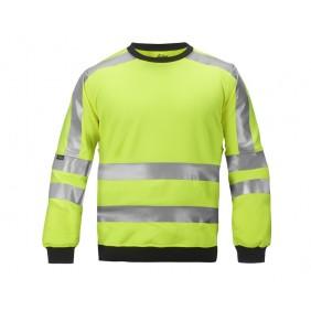 Snickers 2833 Hi-Vis Sweatshirt, Klasse 2/3