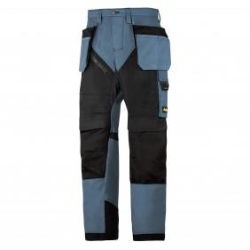 Snickers Workwear 6203 RuffWork Arbeitshose - Petrol-Schwarz (5104)