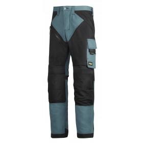 Snickers Workwear 6303 RuffWork Arbeitshose ohne Holstertaschen, petrol-schwarz