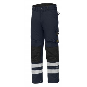 Snickers Workwear 6619 AllroundWork isolierende Arbeitshose 37.5® - navy-schwarz (9504)