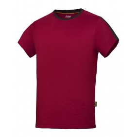 Snickers Workwear 2518 AllroundWork T-Shirt - chili