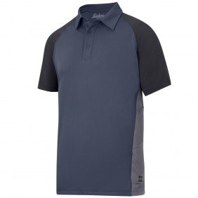 Snickers Workwear 2714 A.V.S. Advanced Polo Shirt, navy-schwarz-stahlgrau