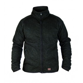 Dunderdon KN1 Wolljacke grau-schwarz DW6001761000