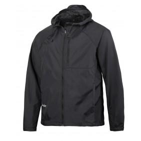 Snickers Workwear 1900 LiteWork Windbreaker Jacke - schwarz