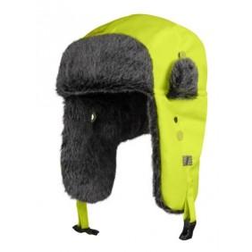 Snickers Workwear 9029 RuffWork, High-Vis Trapper Mütze mit Ohrenklappen