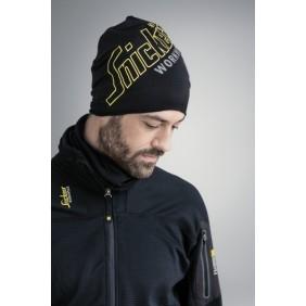 Snickers Workwear 9030 FlexiWork Stretch Fleece Beanie bedruckt