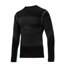 Snickers Workwear 9418 LiteWork Langarm-Shirt 37.5® - schwarz