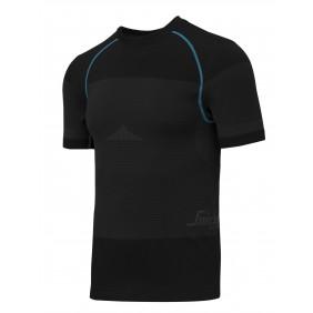 Snickers Workwear 9419 LiteWork Kurzarm-Shirt 37.5® - schwarz