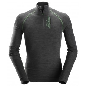 Snickers Workwear 9441 Flexiwork Woll Langarm-Shirt, nahtlos