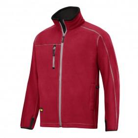 Snickers Workwear 8012 A.I.S. Fleece Jacke rot