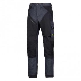 Snickers Workwear 6305 RuffWork Denim Arbeitshose ohne Holstertaschen, Denim-Schwarz