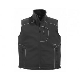 FHB Martin 78517 Softshell Weste, Workwear, Arbeitskleidung, Wasserabweisend, Wasserdicht, atmungsaktiv, Arbeitsweste