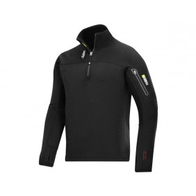 Snickers 9435 Body Mapping Mikro Fleece Troyer in 0400