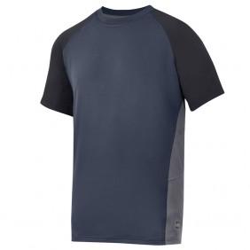 Snickers Workwear 2509 A.V.S. Advanced T-Shirt, navy-schwarz-stahlgrau