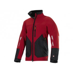 Snickers 8888 3- Lagen WINDSTOPPER Soft Shelljacke, Workwear, Wasserdicht, Wind Stopper, Handytasche, Snickers Workwear, Arbeitskleidung, Arbeitsjacke, chillirot