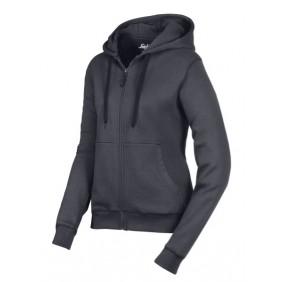 Snickers Workwear 2806 Damen Reißverschluss Sweatshirt stahlgrau 5800
