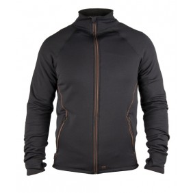Dunderdon S27 Jacke Polartec schwarz-braun DW4027781030