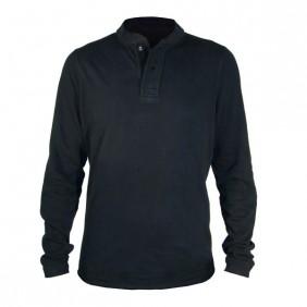 Dunderdon T13 Langarm Shirt Stehkragen schwarz DW3013431000