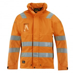 Snickers 1683 High-Vis Softshell Jacke, Klasse 3