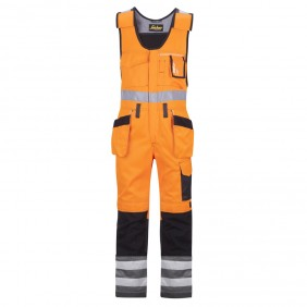 Snickers 0213 High-Vis Kombihose mit Holstertasche