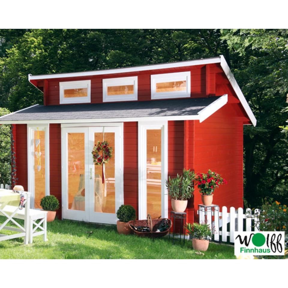 wolff finnhaus blockbohlenhaus langeoog 40 isolierverglast. Black Bedroom Furniture Sets. Home Design Ideas