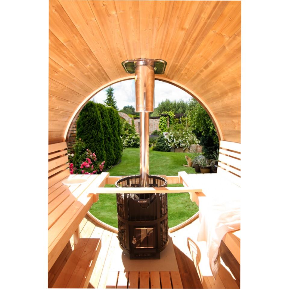 wolff finnhaus rundglas f r saunafass de luxe wolff finnhaus. Black Bedroom Furniture Sets. Home Design Ideas