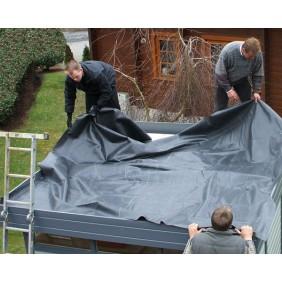 EPDM Foliendach für Wolff Finnhaus Gartenhaus Cordoba 44-B