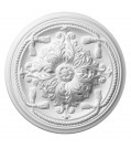 Saarpor Rosette Esmeralda, weiß, Ø 45 cm
