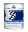 OPUS1 Acryl Profi-Weißlack extramatt