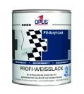 OPUS1 Acryl Profi-Weißlack seidenmatt
