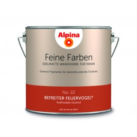 Alpina Feine Farben No. 22  Befreiter  Feuervogel