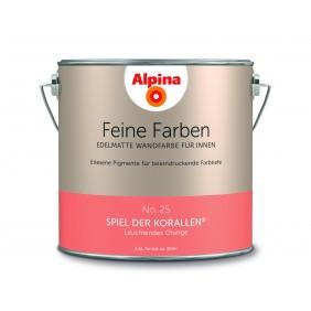 Alpina Feine Farben No. 25  Spiel der  Korallen