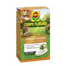 COMPO FLORANID Herbst-Rasen Langzeit-Dünger 3 kg für 120 m²