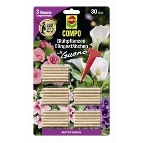 COMPO Blühpflanzen Düngestäbchen mit Guano (30 Stäbchen)